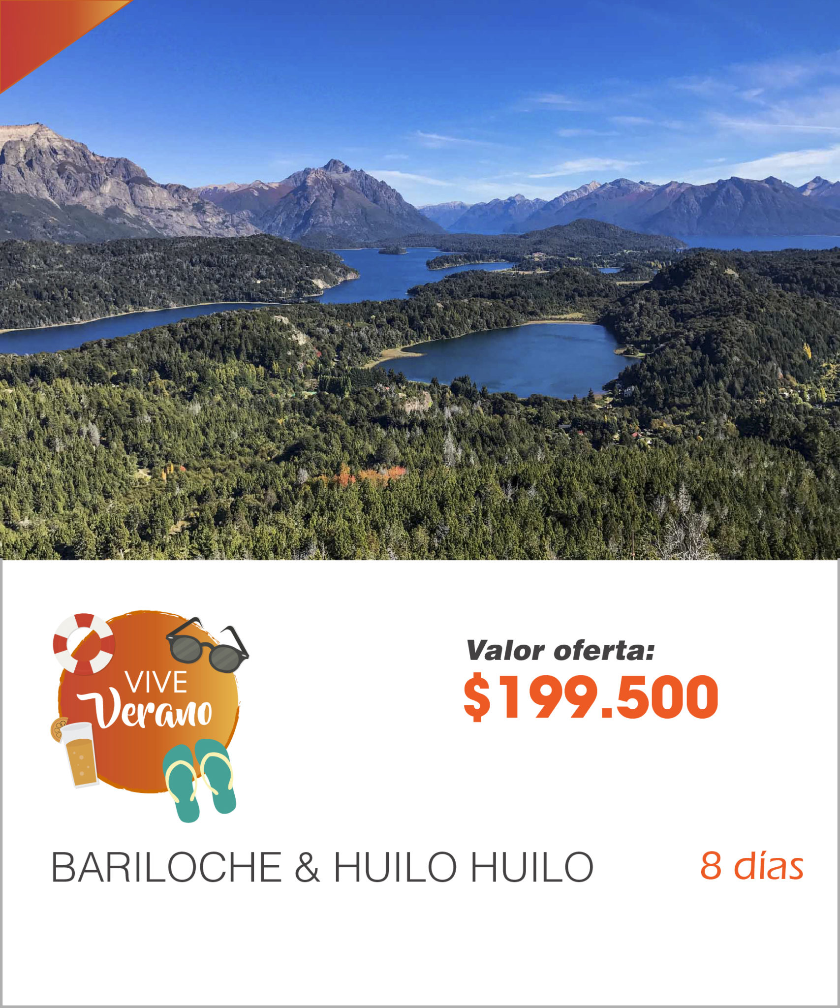 BARILOCHE & HUILO HUILO