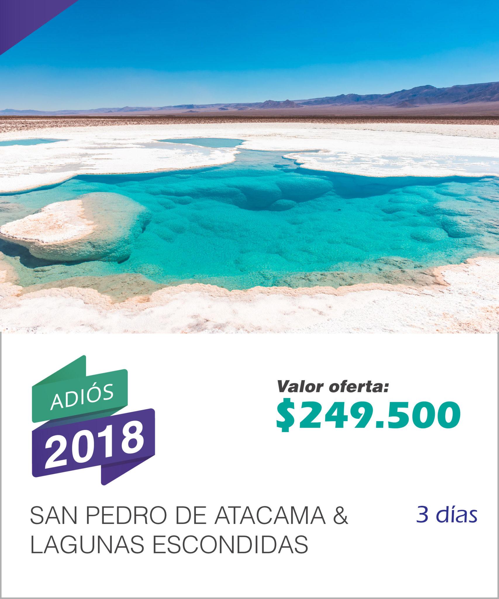SAN PEDRO DE ATACAMA & LAGUNAS ESCONDIDAS