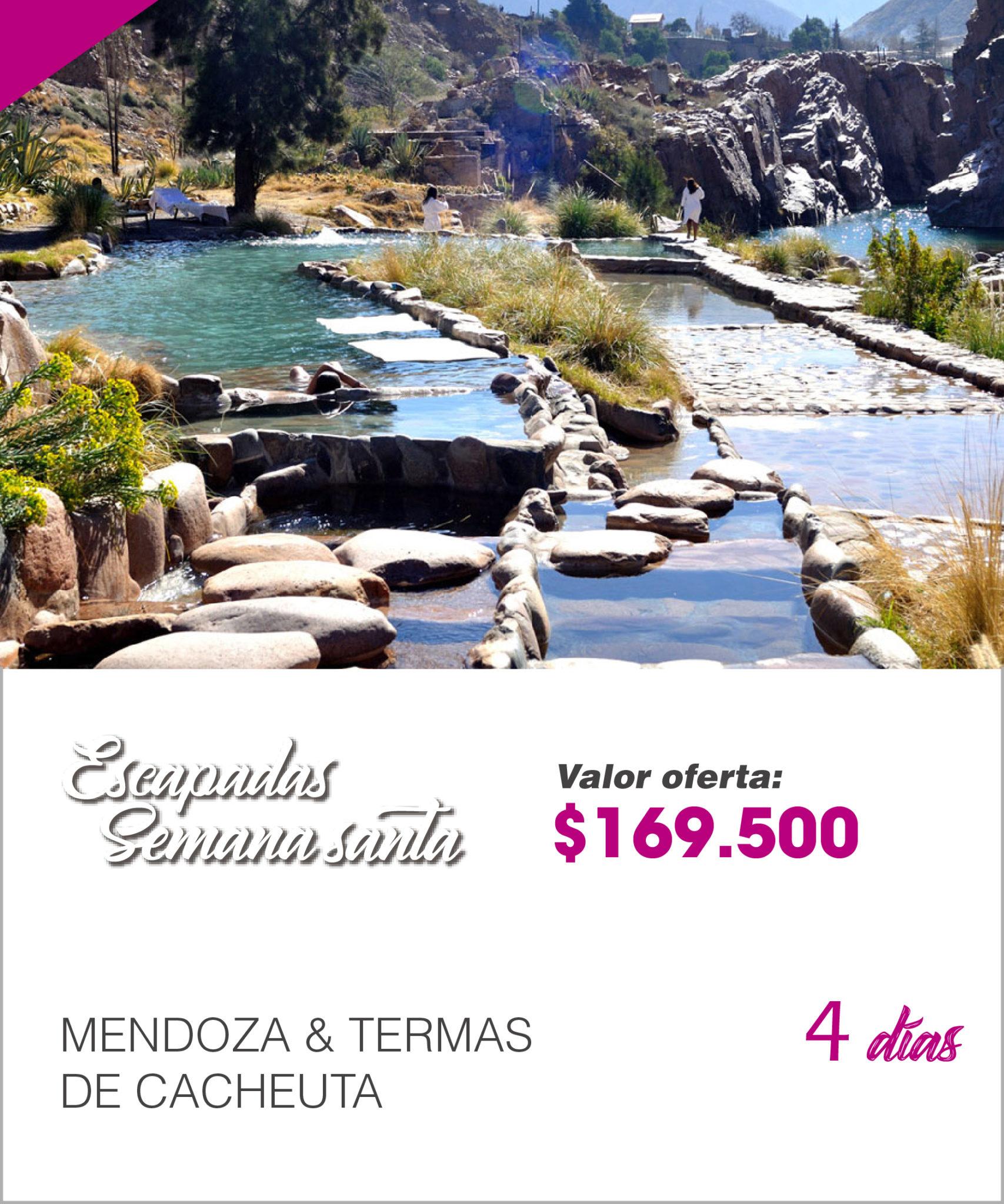 MENDOZA & TERMAS DE CACHEUTA
