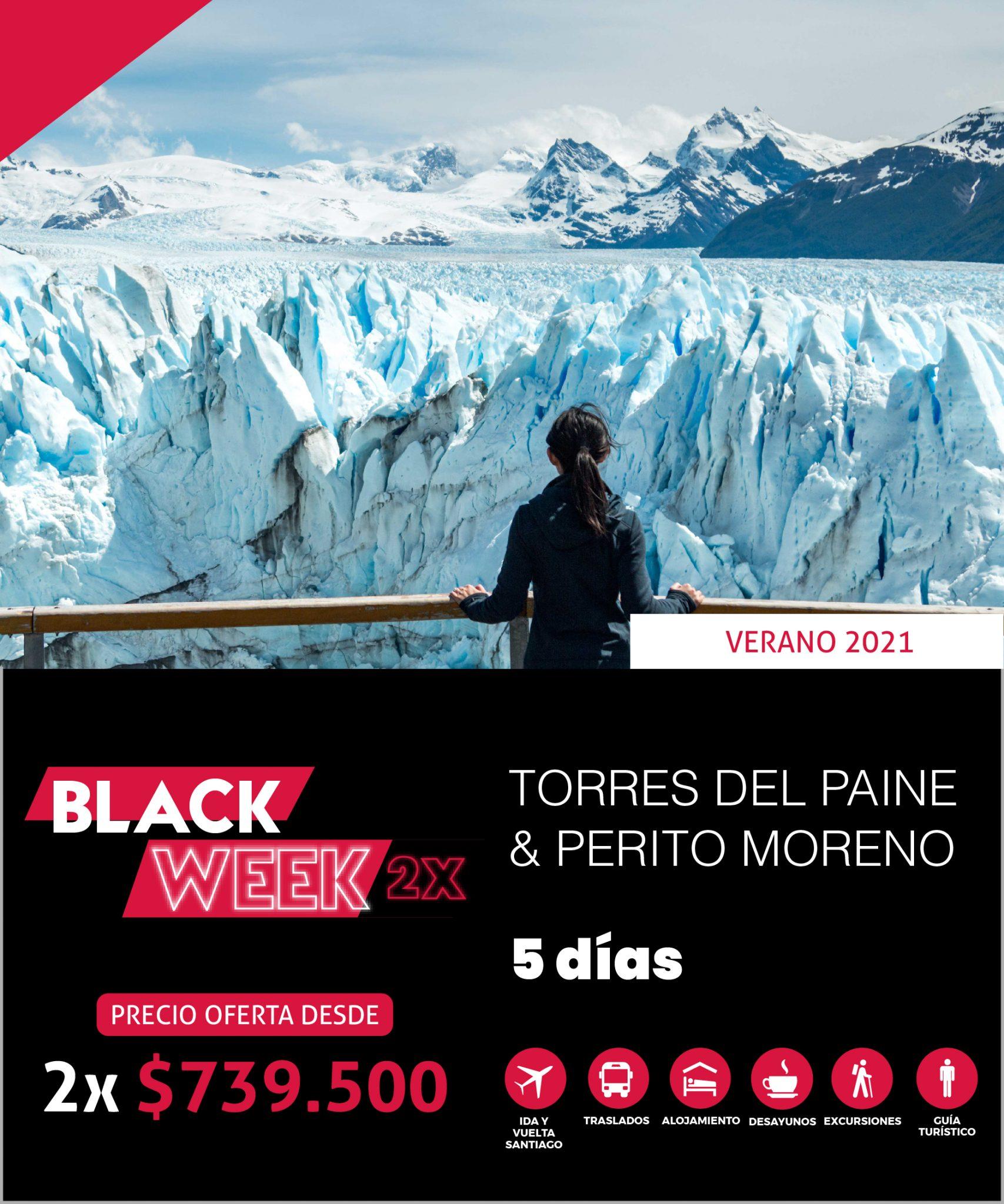 TORRES DEL PAINE & PERITO MORENO