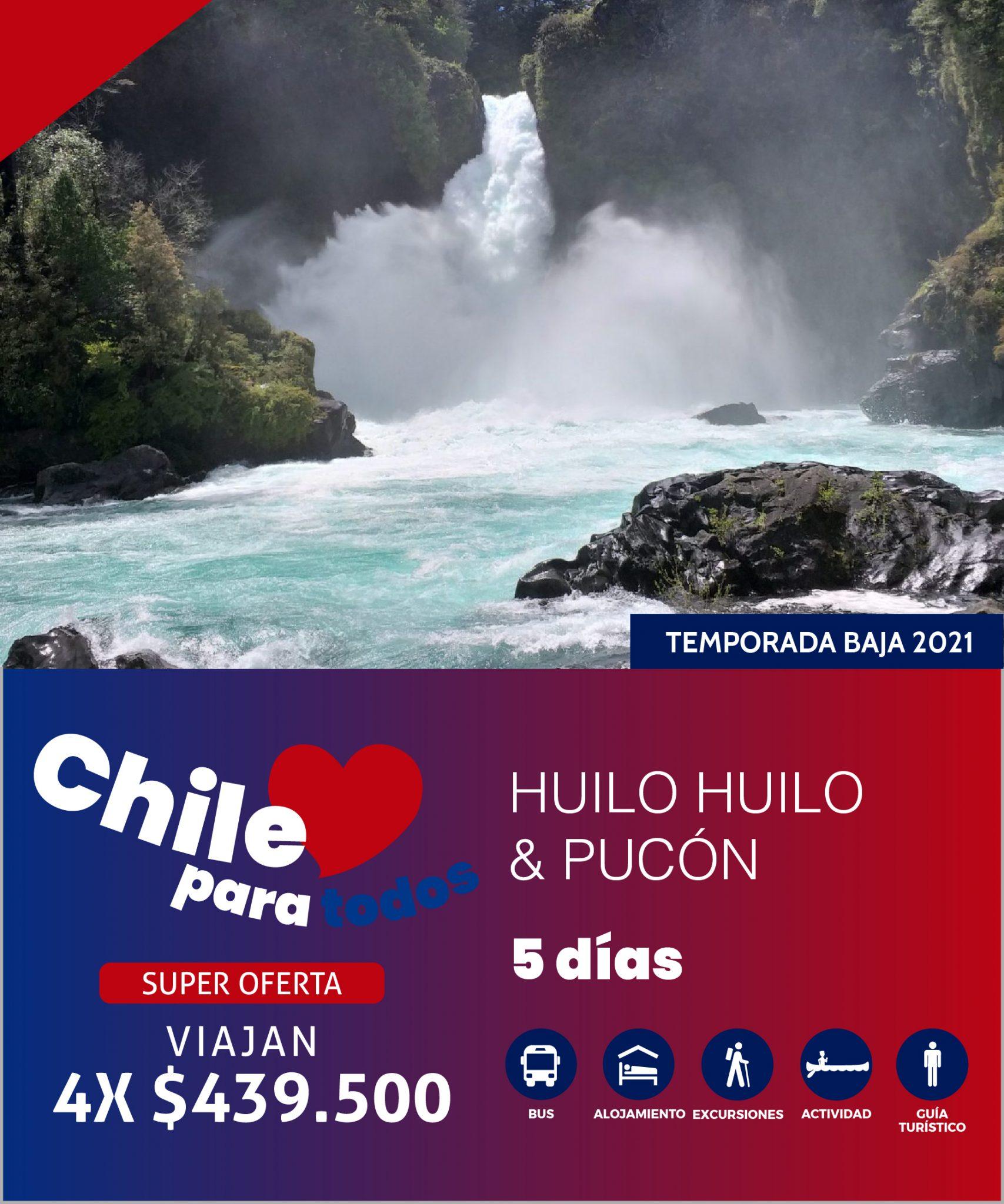HUILO HUILO & PUCÓN