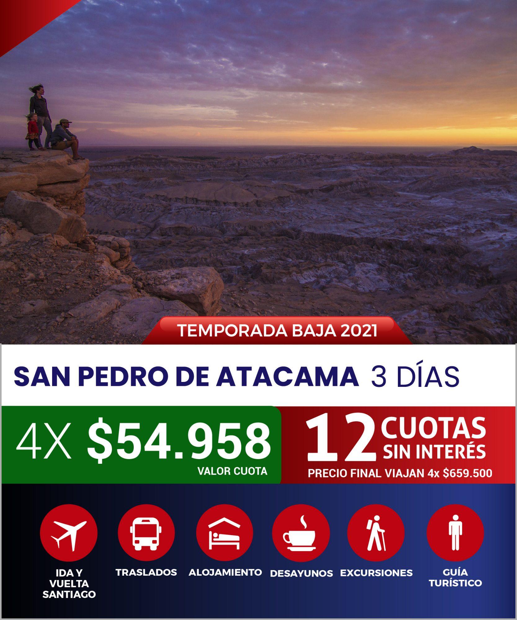 SAN PEDRO DE ATACAMA EXPRESS AÉREO